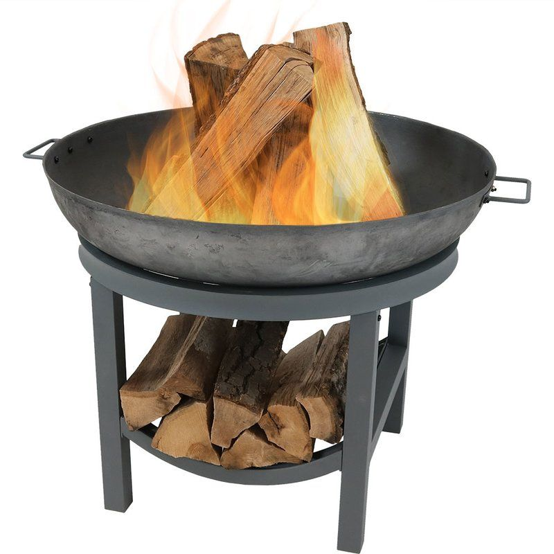 Nina Cast Iron Wood Burning Fire Pit Outdoor Wood Burning Fireplace Cast Iron Fire Pit Iron Fire Pit