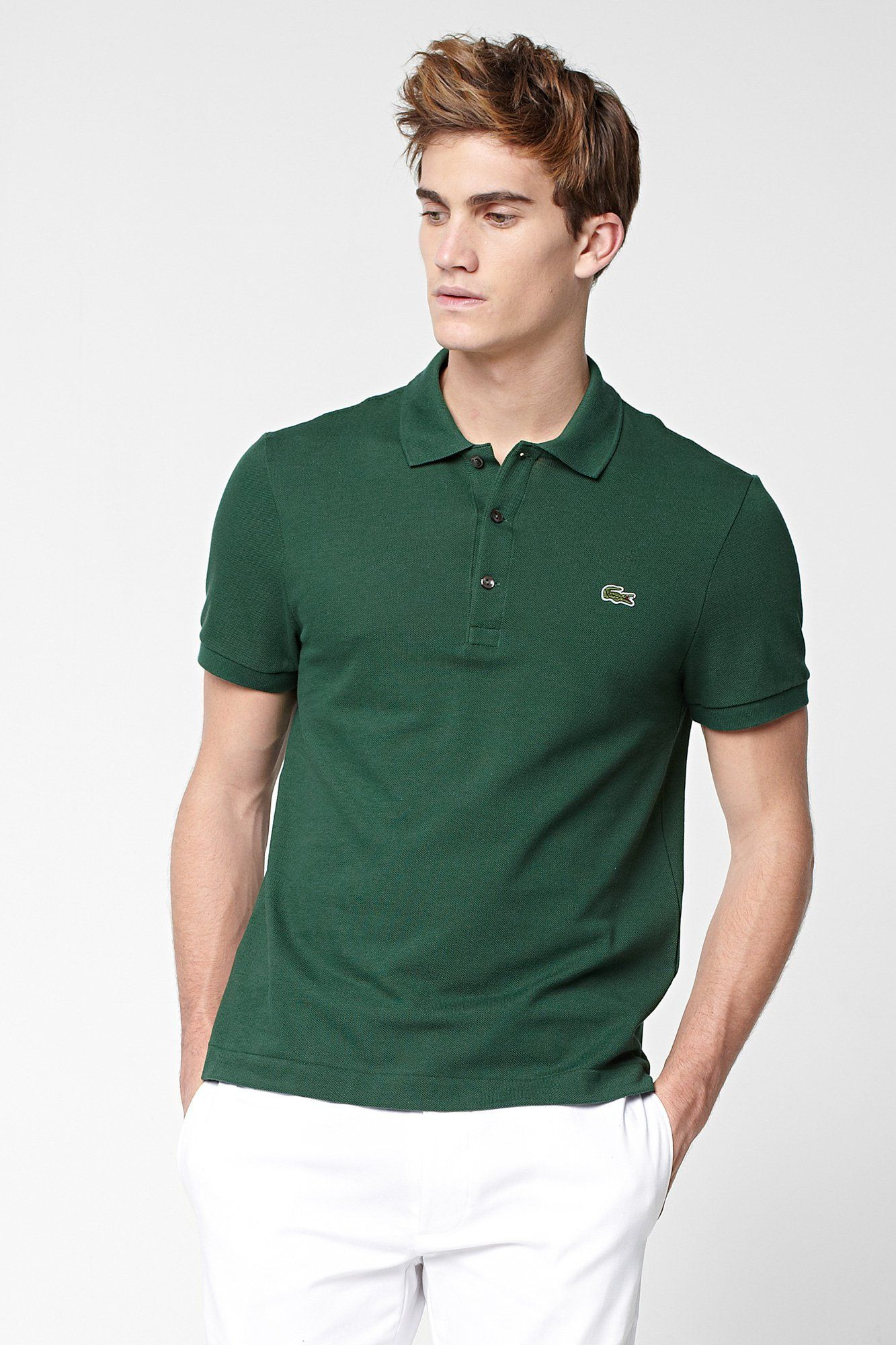 Leg day t shirts men s polo shirt slim - Lacoste Short Sleeve Slim Fit Pique Polo Shirt