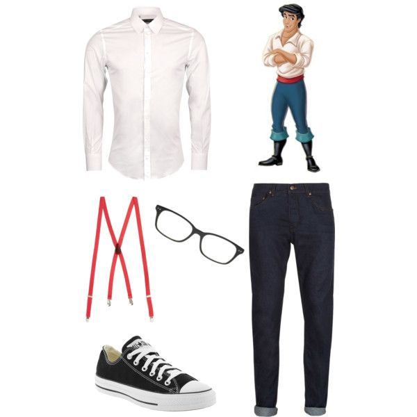 halloween ideas little mermaid hipster prince eric by orlandoa on polyvore - Hipster Halloween Ideas