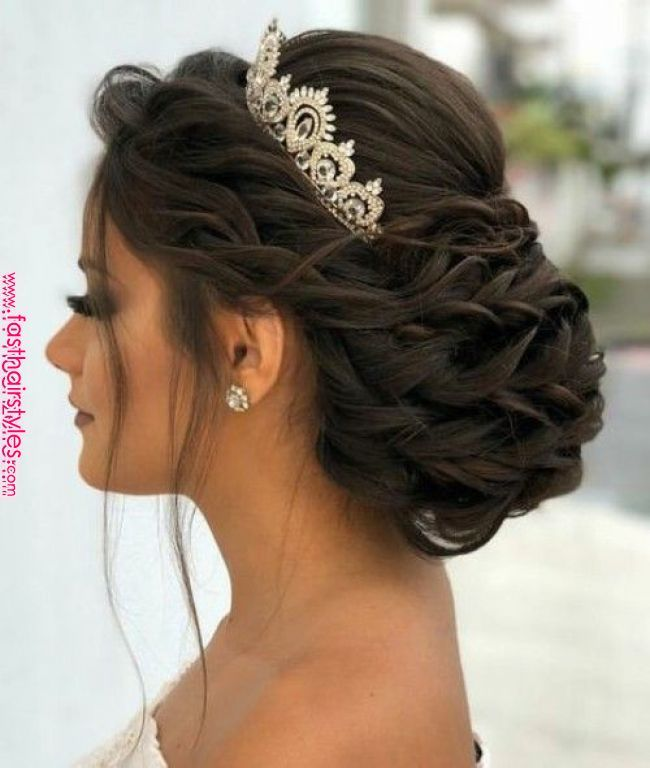 Susse Quinceanera Frisuren Mit Krone Susse Quinceanera Frisuren Mit Krone Frizura In 2019 Pinterest Qui Quince Hairstyles Hair Styles Bridal Hair Updo