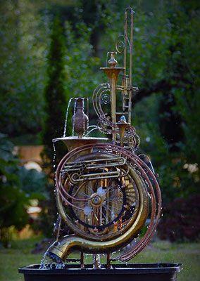 Douglas Walker WaterWorks Sculpture Studio, Vancouver Island, BC, Canada.