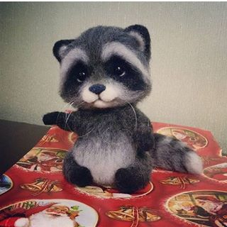 @fateeva_toys  #cute #little #adorable #cutie #needlefelt #felting #felted #handcraft #handmade #needlefelted #wool #animals #animal #diy #needlefelting #pet #pets #puppylove #lol #handmadewithlove #wooltoys #doll #raccoon #raccoons #dollsneedlefelt @fateeva_toys  #cute #little #adorable #cutie #needlefelt #felting #felted #handcraft #handmade #needlefelted #wool #animals #animal #diy #needlefelting #pet #pets #puppylove #lol #handmadewithlove #wooltoys #doll #raccoon #raccoons #dollsneedlefelt #dollsneedlefelt