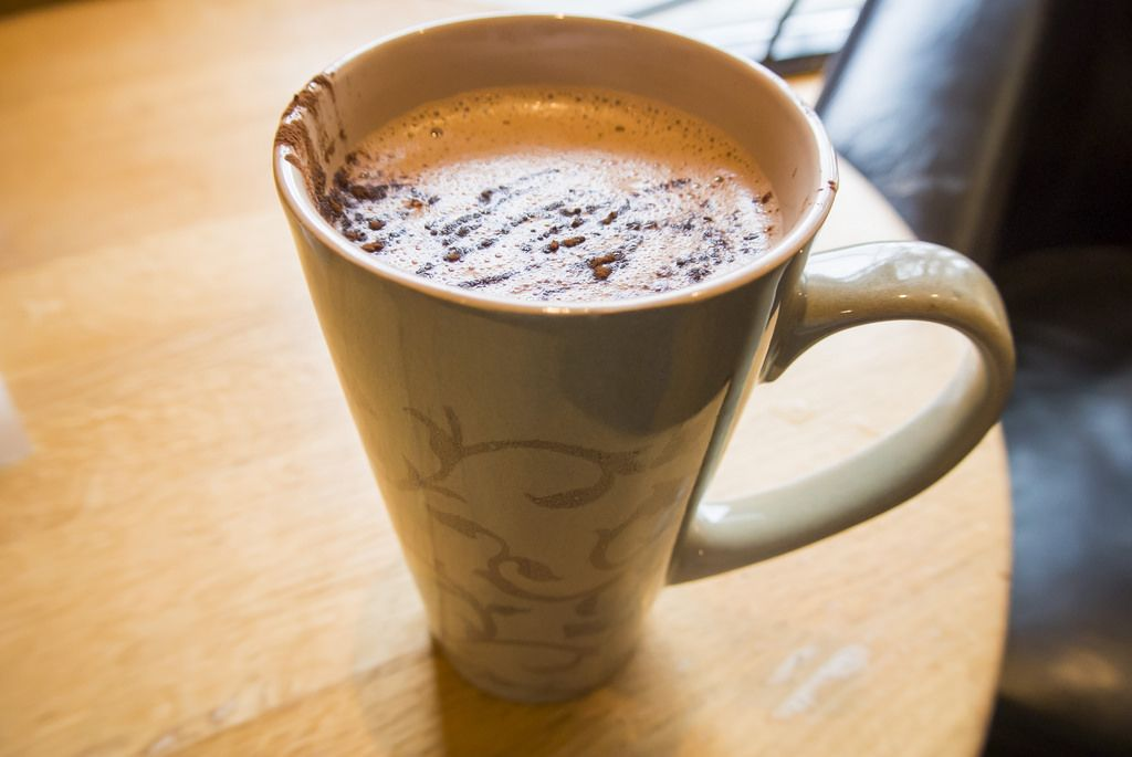 Nosh and Nibble - Schokolade Cafe - Hot Chocolate Review - Vancouver #foodie #foodporn