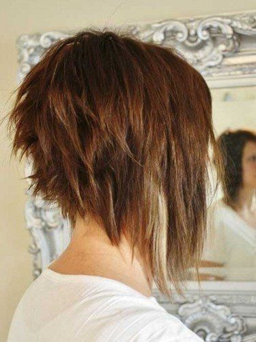 35 Short Stacked Bob Hairstyles 2017 2016 Haircut In Back Long Front