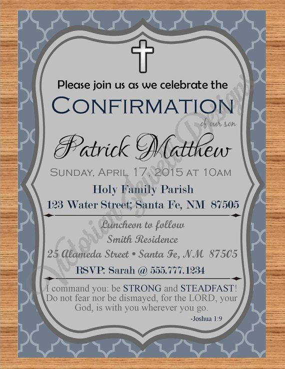 confirmation invitation first holy communion invitation baptism