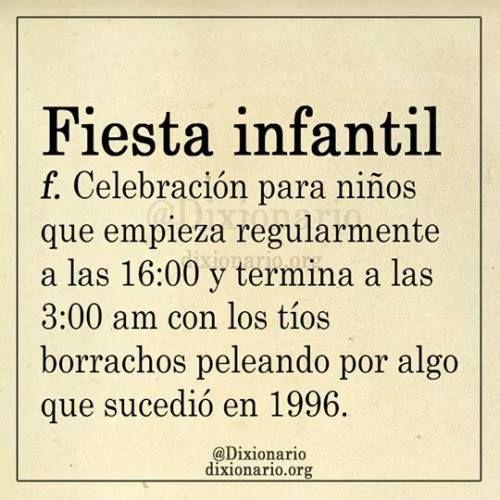 Jajajaja Fiestas Infantiles Borrachos Palabras