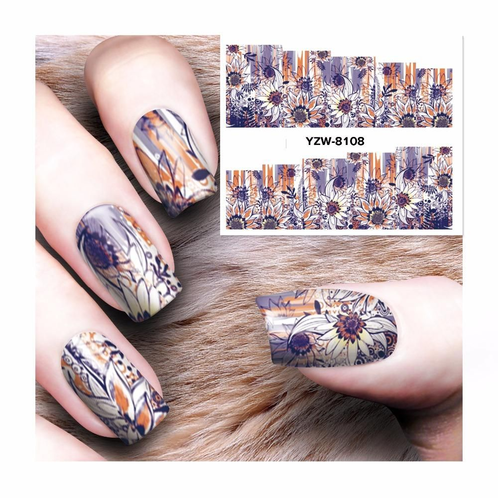 Visit To Buy Lcj New Arrival Water Decals Transfer Stickers Nail
