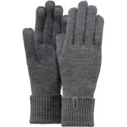 Photo of Barts Handschuhe Fein gestrickte Handschuhe, Größe L in grauen BartsBarts