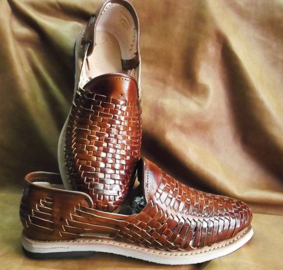 cd5eb86566b Mexican Traditional Huarache Brand New Leather by ArteImMrAmA ...