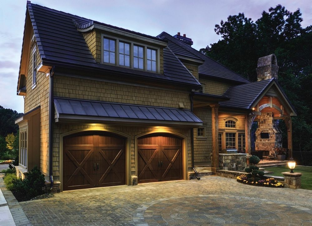 Image results for TUSCAN OLD WORLD WOOD GARAGE DOORS