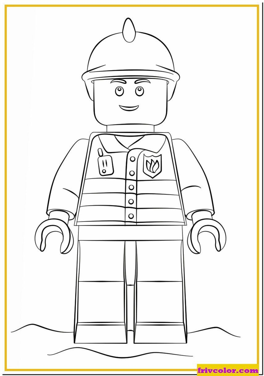 Lego City Coloring Pages Lego Fireman City Friv Free Coloring Pages For Children In 2020 Lego Coloring Pages Lego Coloring Lego Pictures