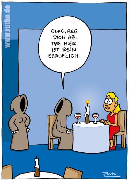 Cartoon   Comics   Pinterest   Ruthe, Tod und Lustiges