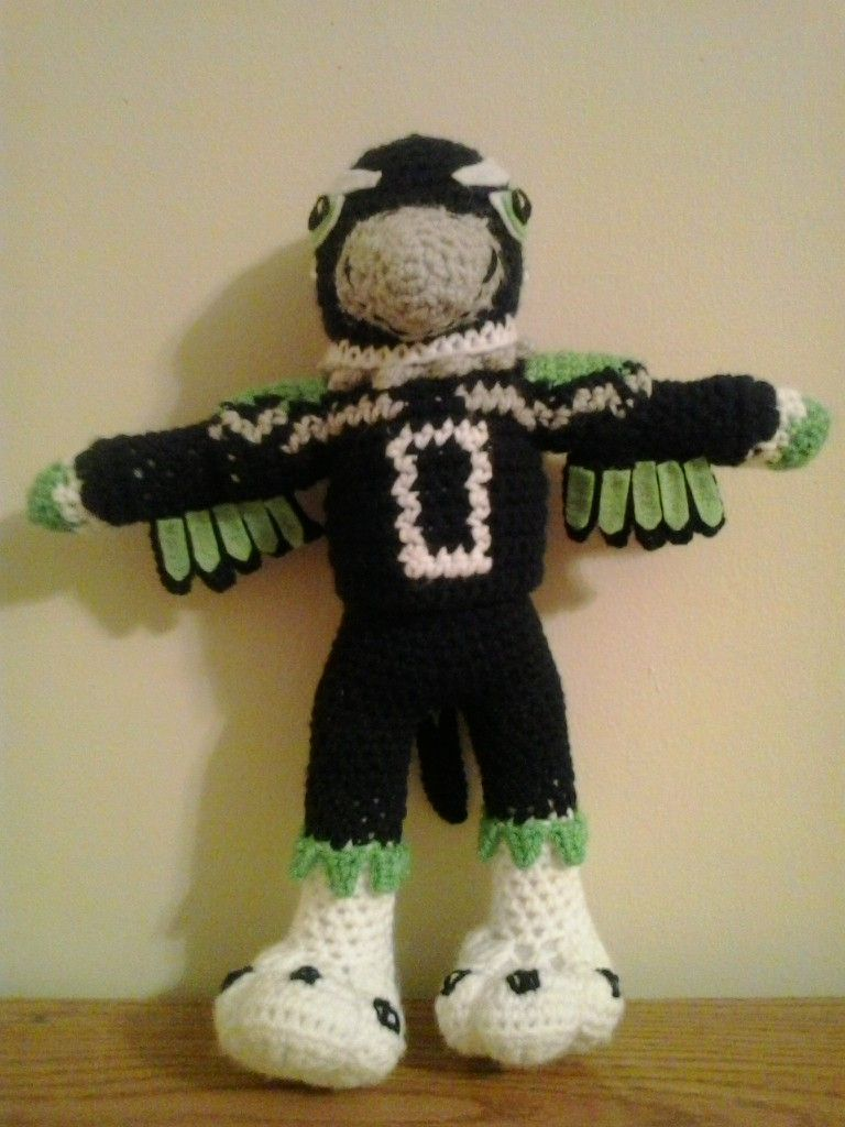 Blitz is the official mascot for the Seattle Seahawks. This was a ...