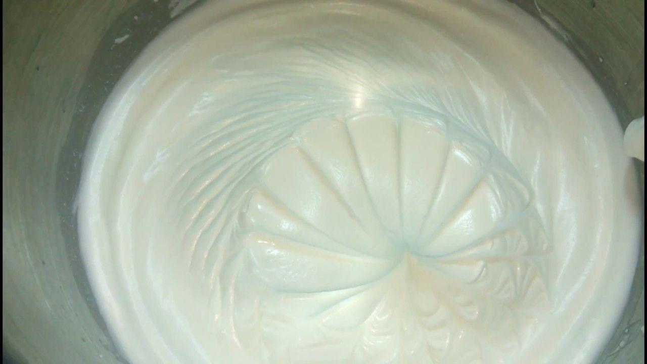الكريم شانتيه زى الحلوانى واحلى متماسك وطعمه جميل Chantilly Cream Icing Desserts