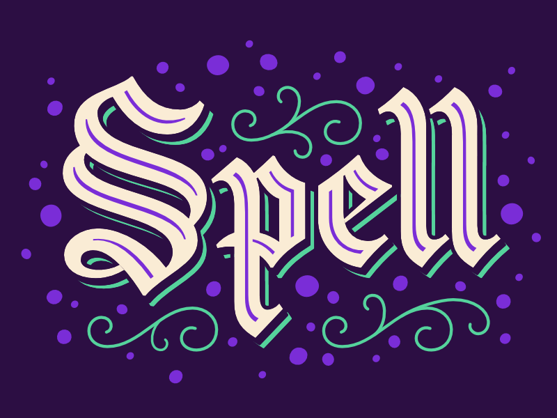 I Put A Spell On You in 2020 Spelling, Lettering