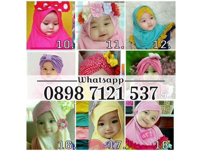 Murah Wa 0898 7121 537 Jilbab Bayi Newborn