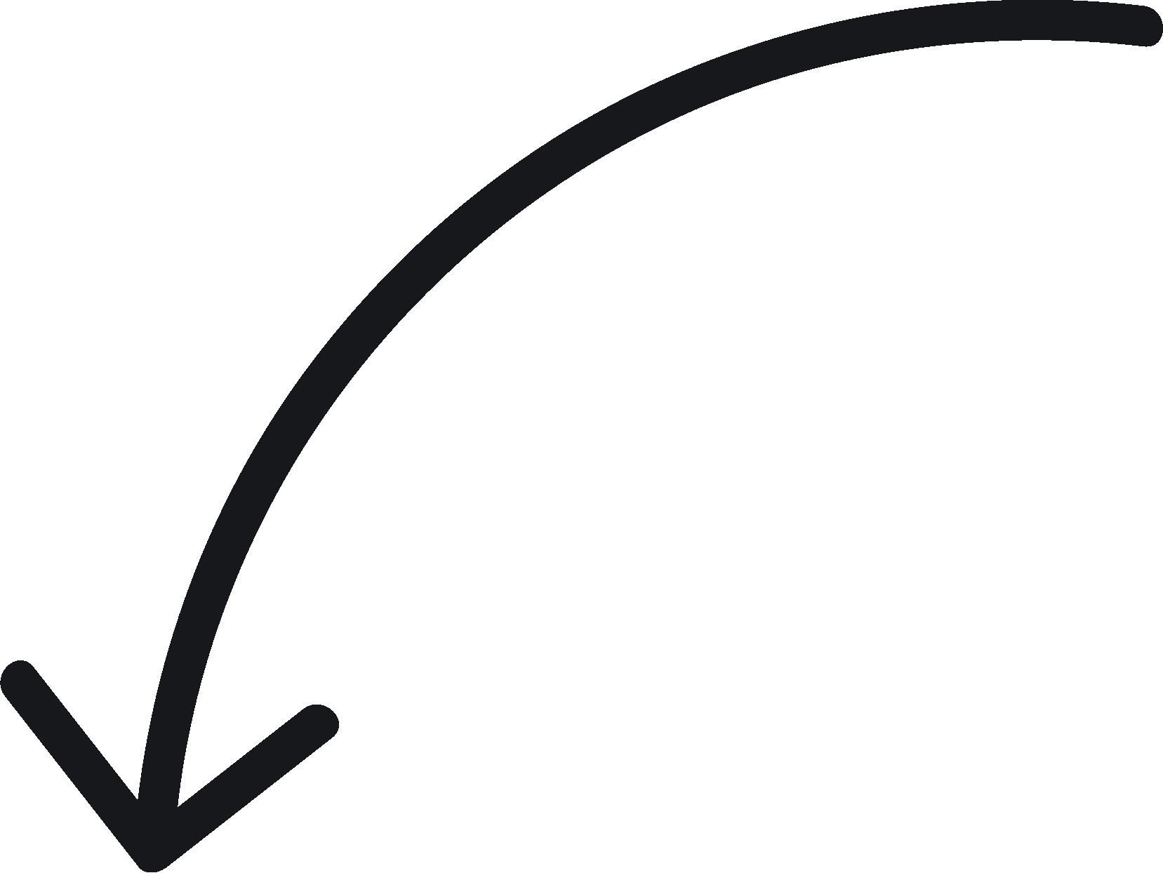 Curved Tool Curve Arrow Png Image High Quality Gambar Seni Dekorasi