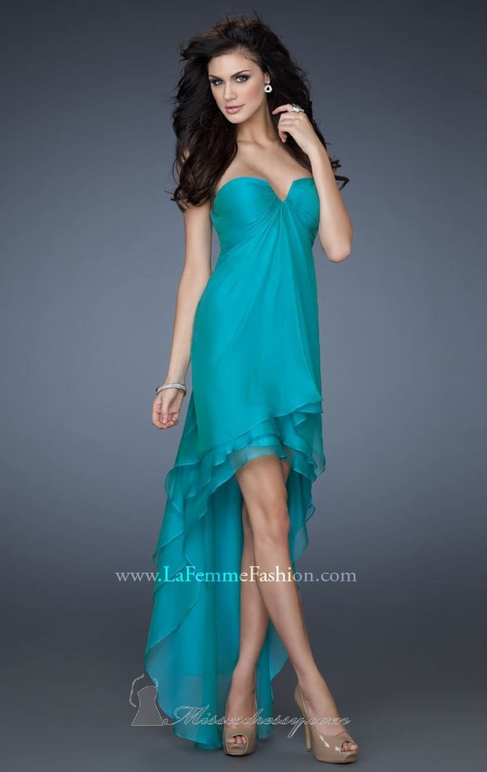 La Femme 18048 Dress - Available at www.missesdressy.com | Evening ...