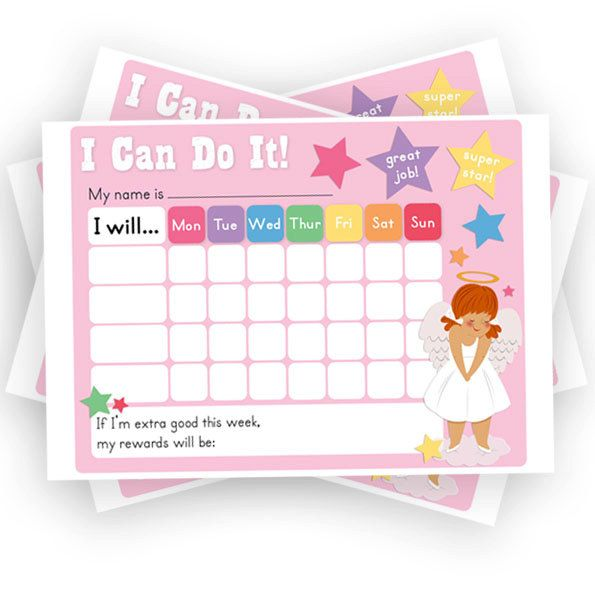 photo about Sticker Chart Printable Pdf identified as Women of all ages Advantage Chart. Chore Chart. Printable. Sticker Chart