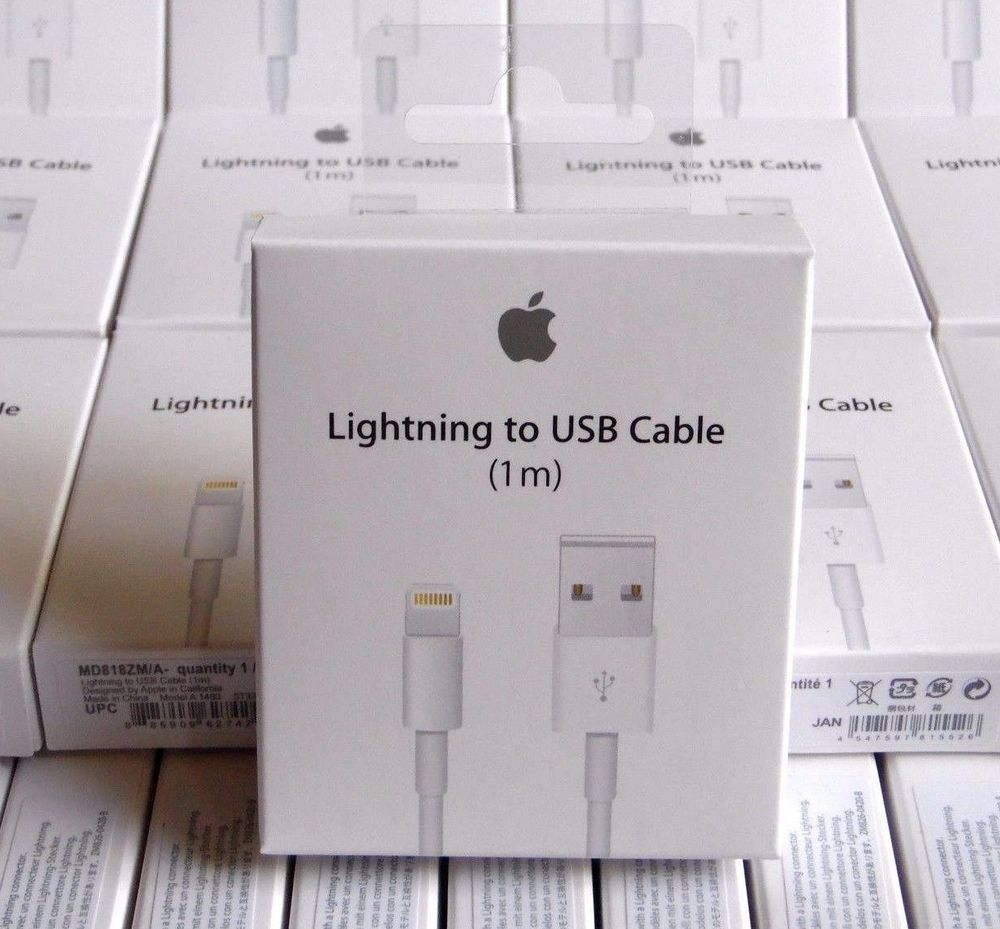 c9473caae53 10x Genuine OEM Apple Lightning USB Charger Cable for iPhone 5/5s 6/6s 7  Plus #Apple