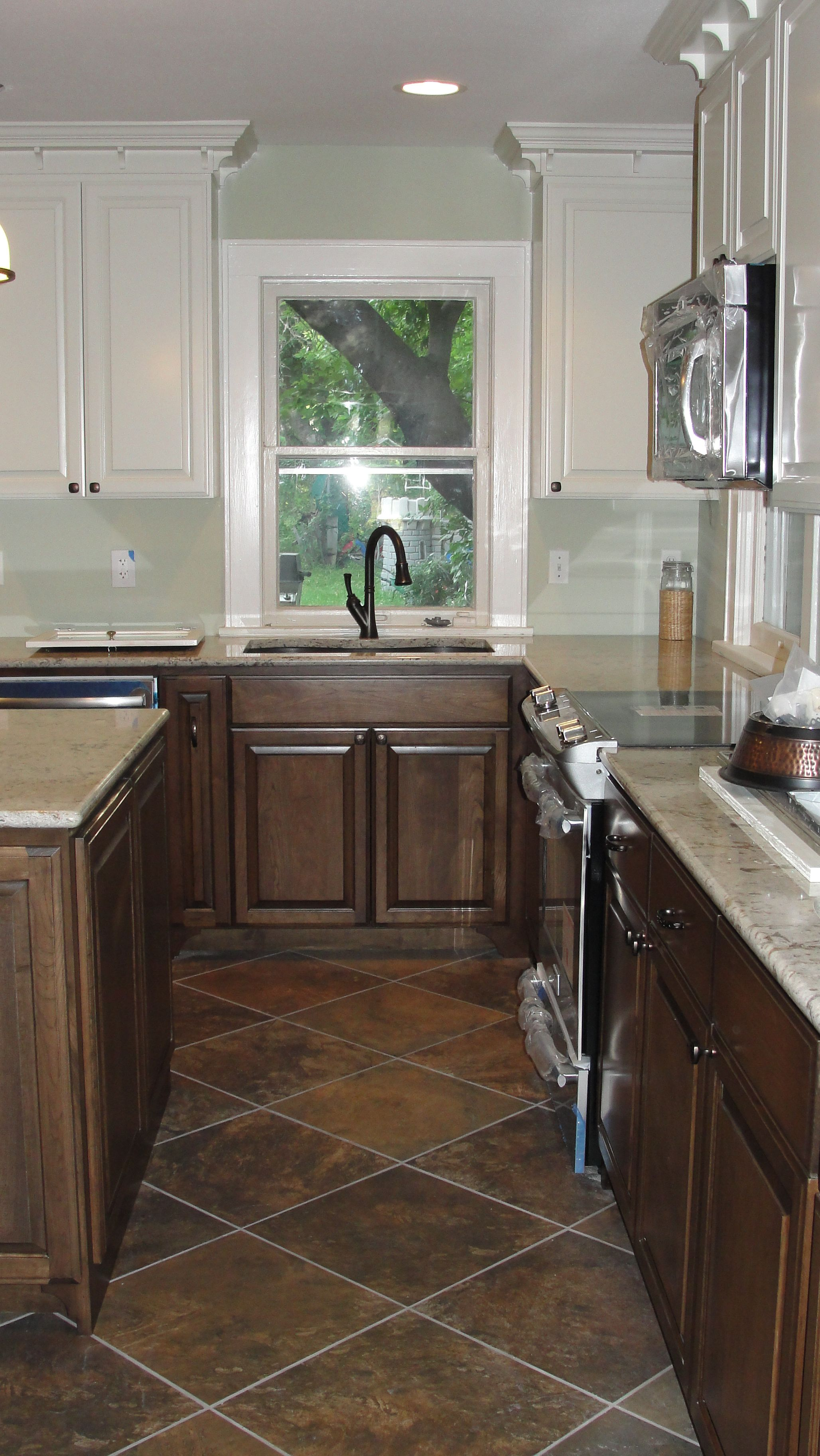 since to we budget bar underneath painted a cabinets same friendly paint the have stools img white corbels breakfast index countertops countertop faith tie wanted our counter in little kitchen on trim recently