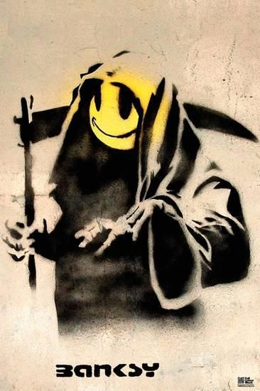 The Reaper Poster by Banksy at AllPosters.com