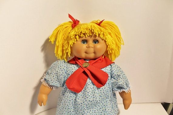 Vintage David Craft Doll Similar To Cabbage Patch Dolls Cabbage