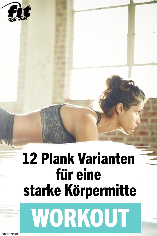 Photo of ᐅ Planking: 12 Plank-Varianten für eine starke Mitte