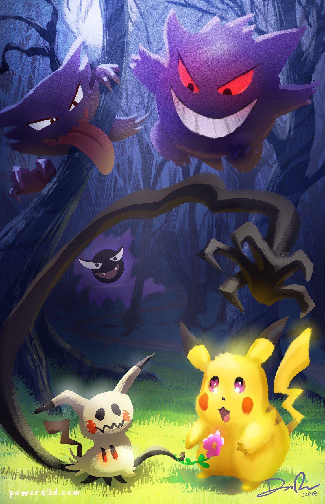 40+ Pikachu ghost information
