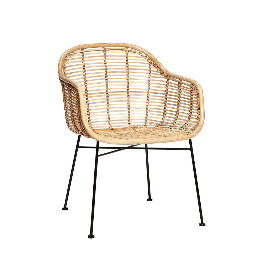 Rattanstuhl Von Hubsch Interior Danisches Design Online Bestellen Www Milanari Com Stuhl Design Korbstuhle Hubsch Interior