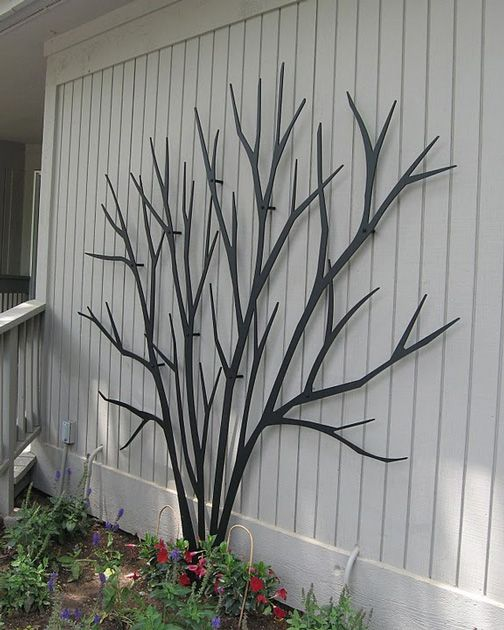 cool trellis Home and Lawn Pinterest Folk, Saints and Gardens