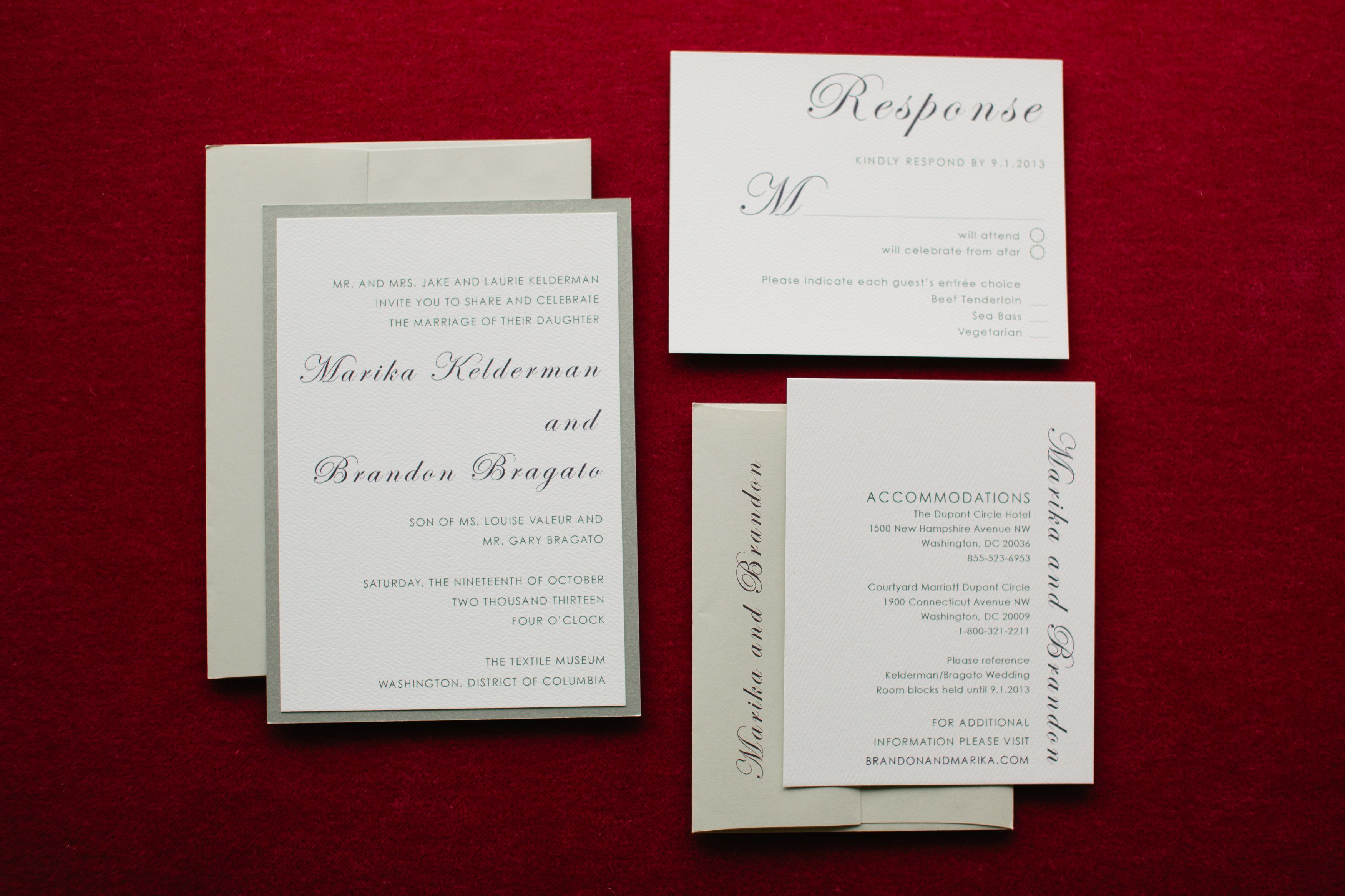 Unique Wedding Invitations Hampshire Festooning - Invitations and ...