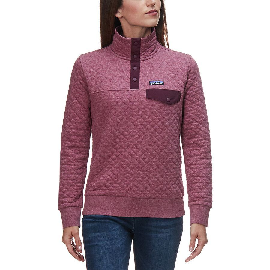 f37a9dcd Patagonia - Organic Cotton Quilt Snap-T Pullover Sweatshirt - Women's -  Kiln Pink