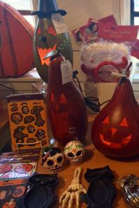 Halloween Decorating Ideas- Halloween Gourd Jack-O-Lanterns for decor