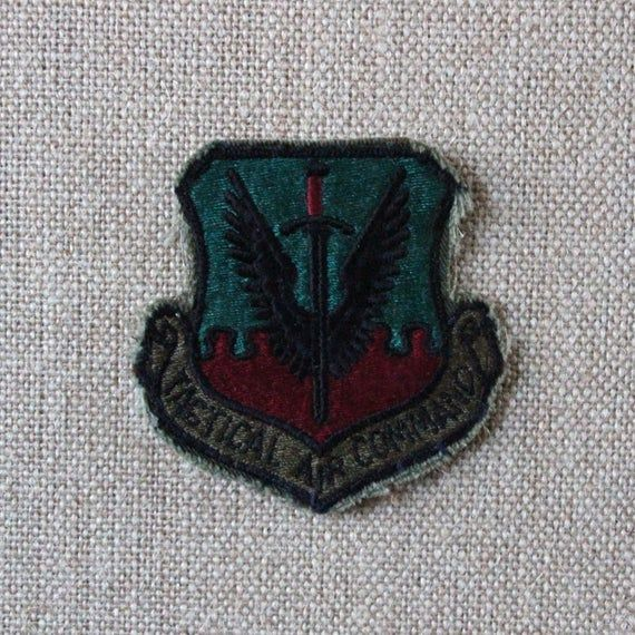 USAF Tactical Air Command Sew On Flight Suit Patch USAF