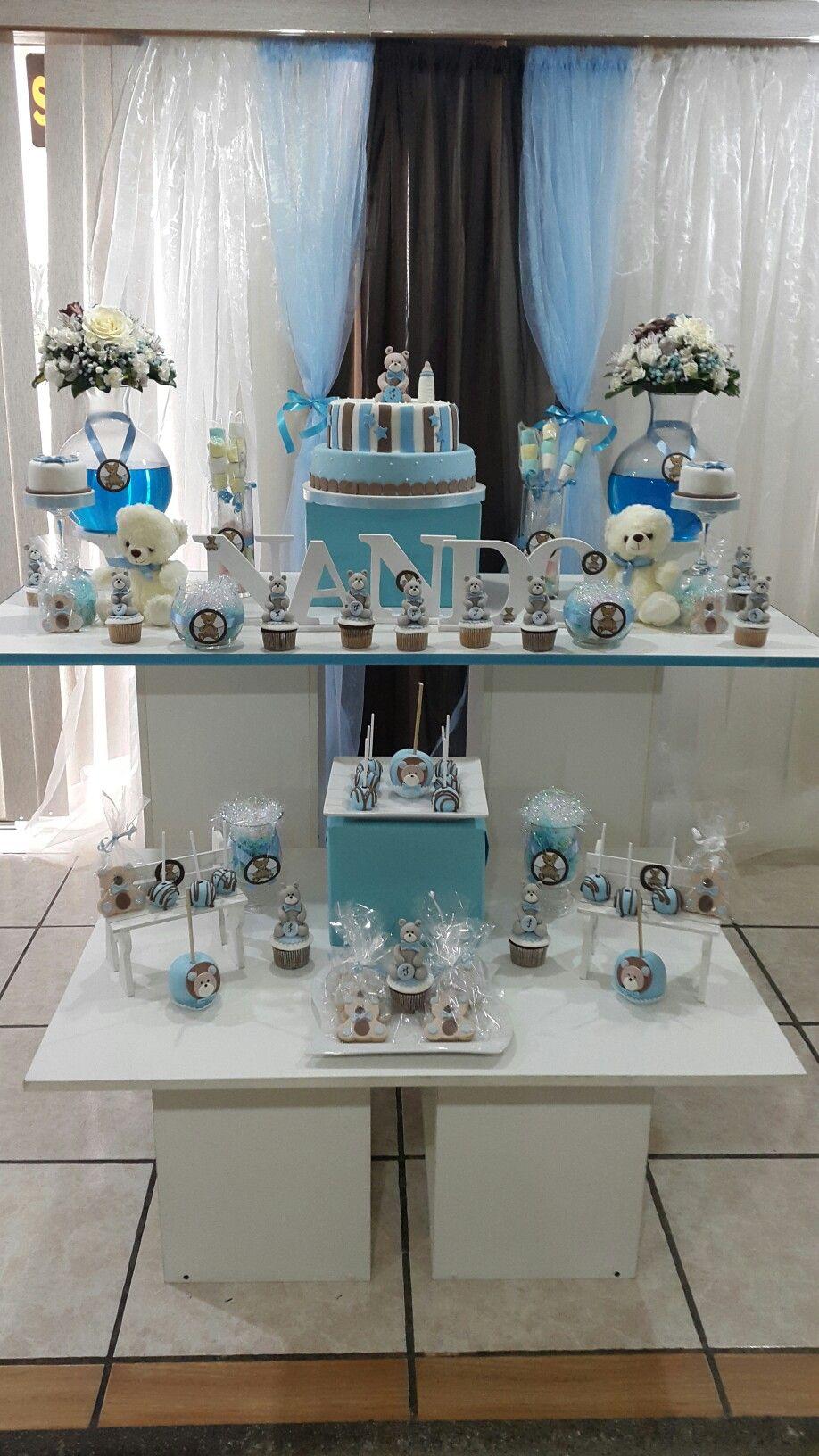 Decoracion Para Baby Shower Temática Ositos Baby Shower Cakes