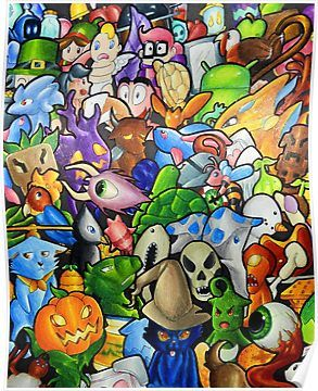 All Terraria S Pets Poster By Bettypico Pets Poster Wall Art Poster Art