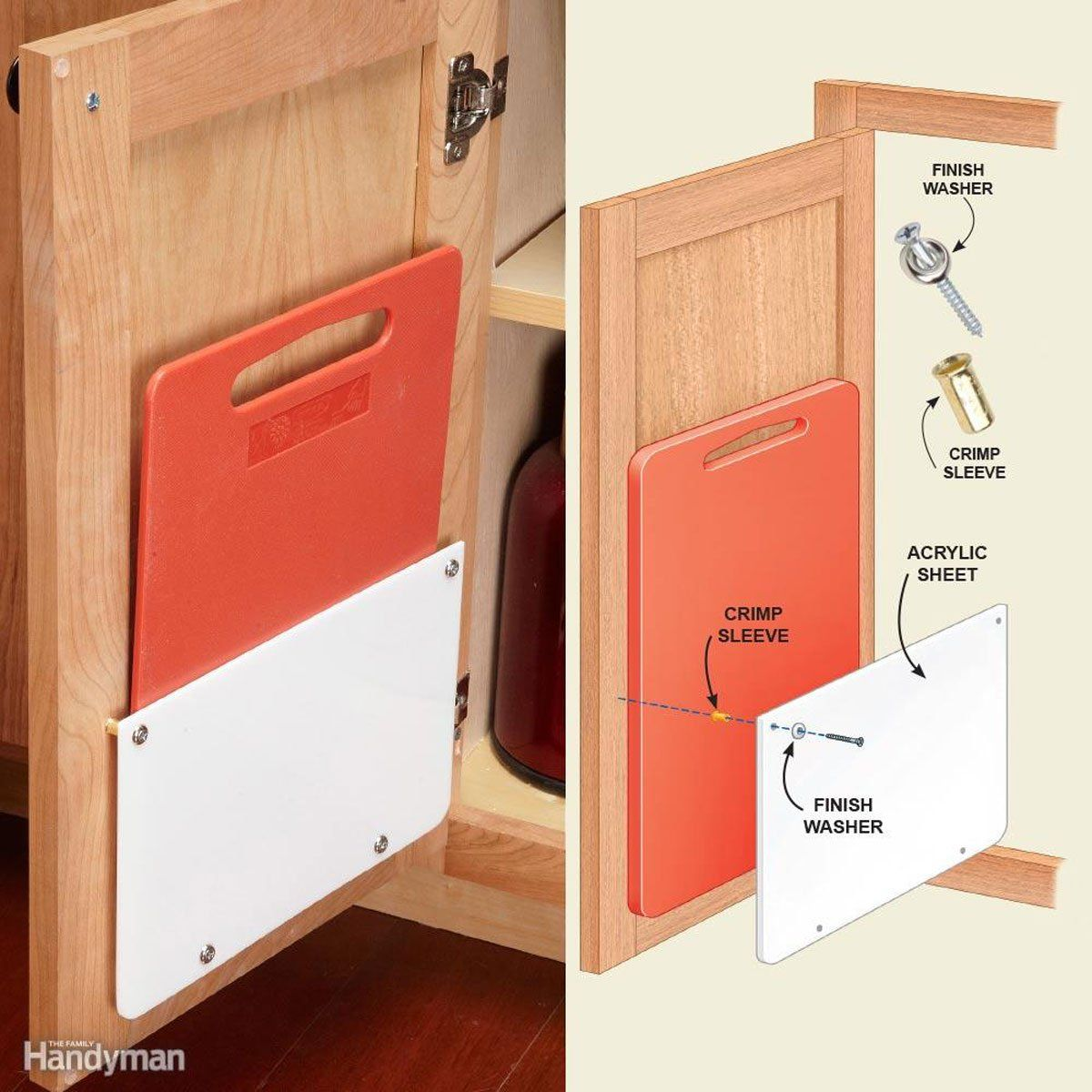 12 Storage Hacks For Your Cupboards Kitchen Cabinet Door Storage