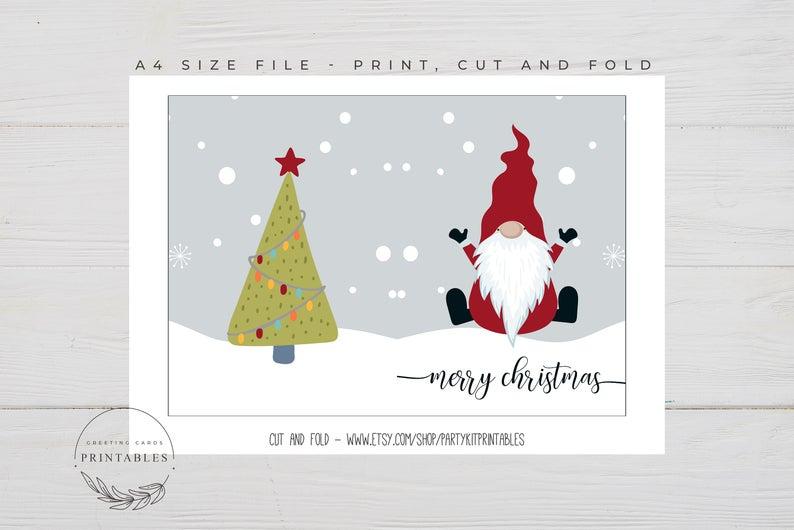 Digital Download Printable Vintage Christmas Card Image Art Etsy Vintage Christmas Cards Christmas Card Images Christmas Art