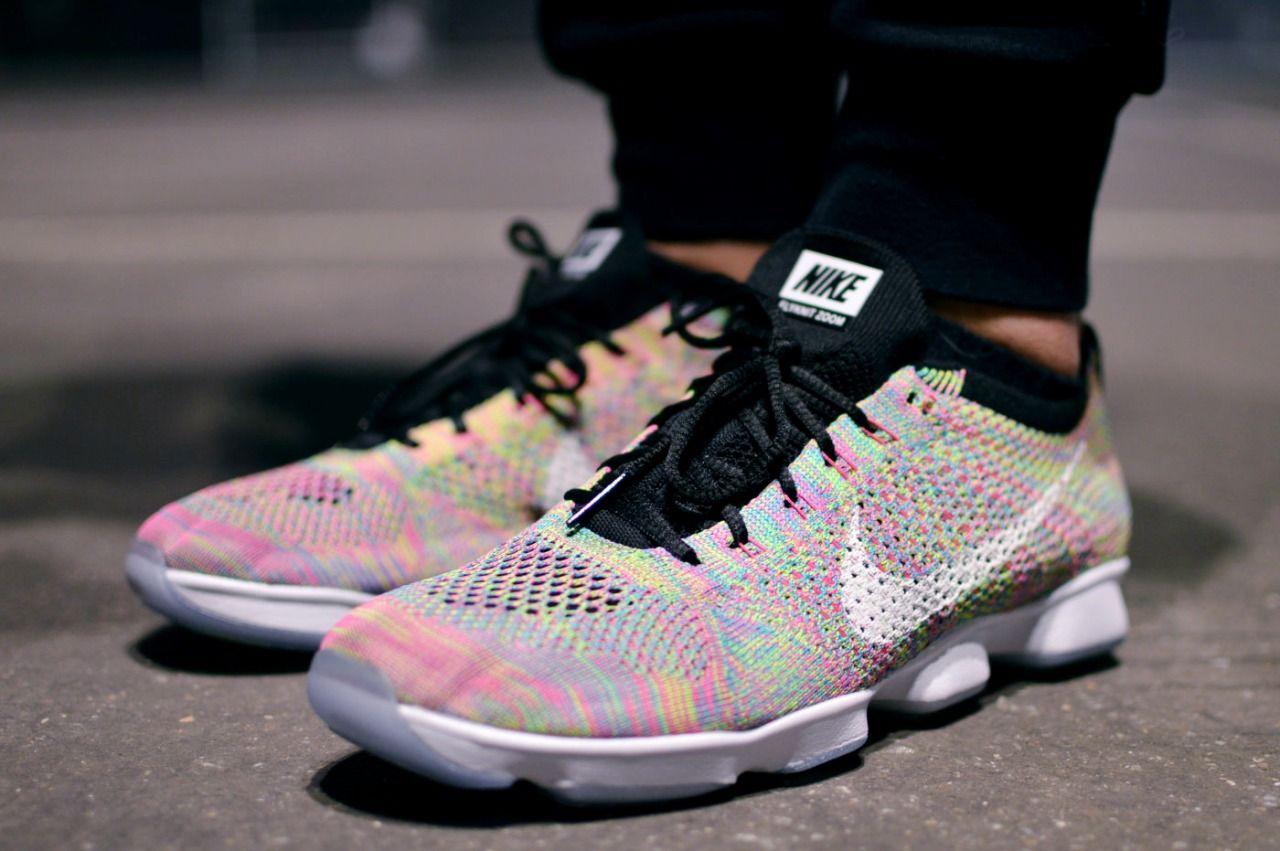 Nike Flyknit Zoom Agility Multicolor