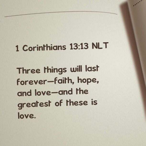 By Photo Congress || 1 Corinthians 13 Nlt
