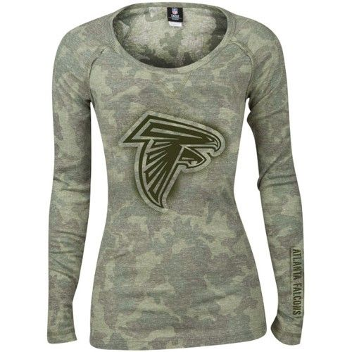 W Camo Thermal L S Falcons Tee  780908d0d
