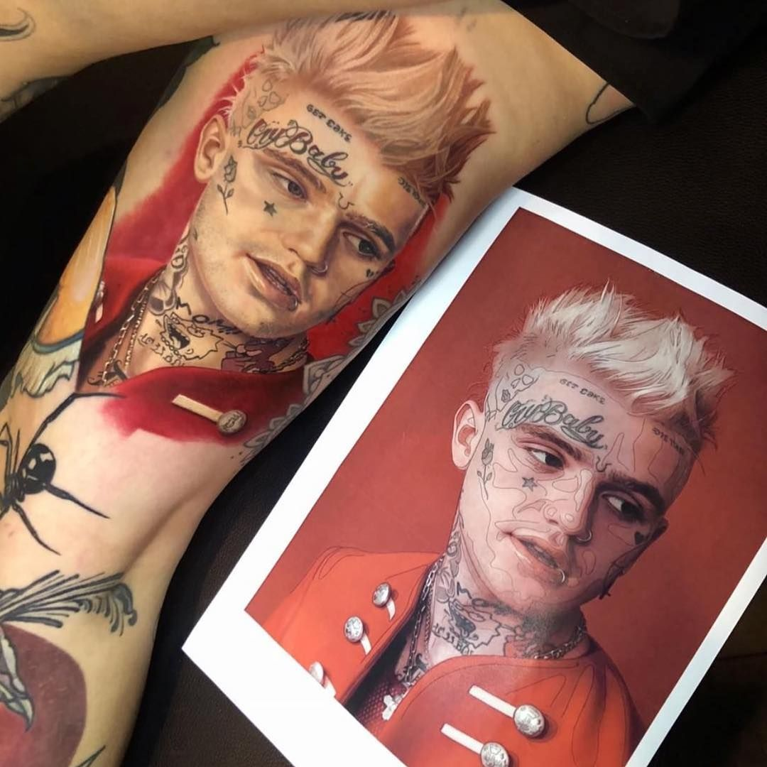 Pin by C. Pulsifer on Ink Inspiration Lil peep tattoos