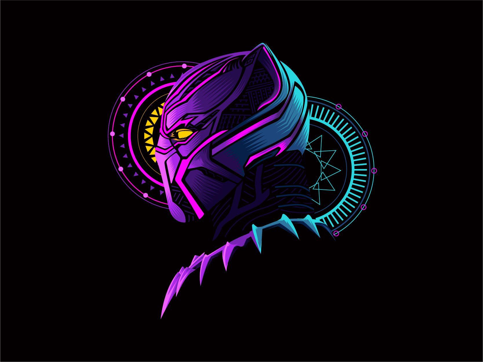 Black Panther In 2021 Marvel Wallpaper Marvel Comics Wallpaper Art Wallpaper