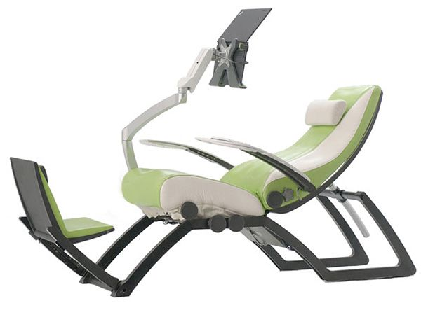 The Best Ergonomic Chair Is The One You Re Not Sitting In Ergo Cyborg Chair