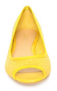 Jones Gemma Ballet Pumps tanned feet need yellow shoes. And these are super cute and leather. A nice little buy at £45 (but now on sale for just £20.70!)