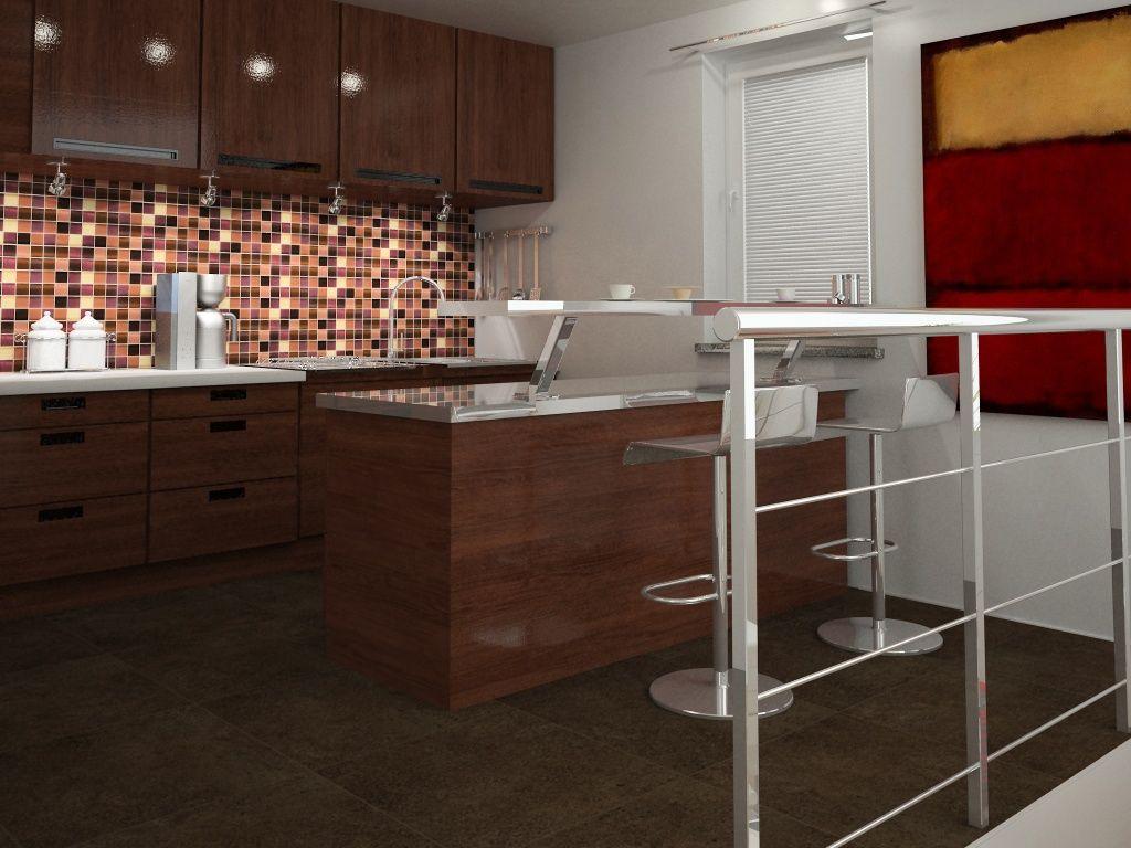 Imagen de pisos y azulejos de cocinas cocinas for Loseta para cocina