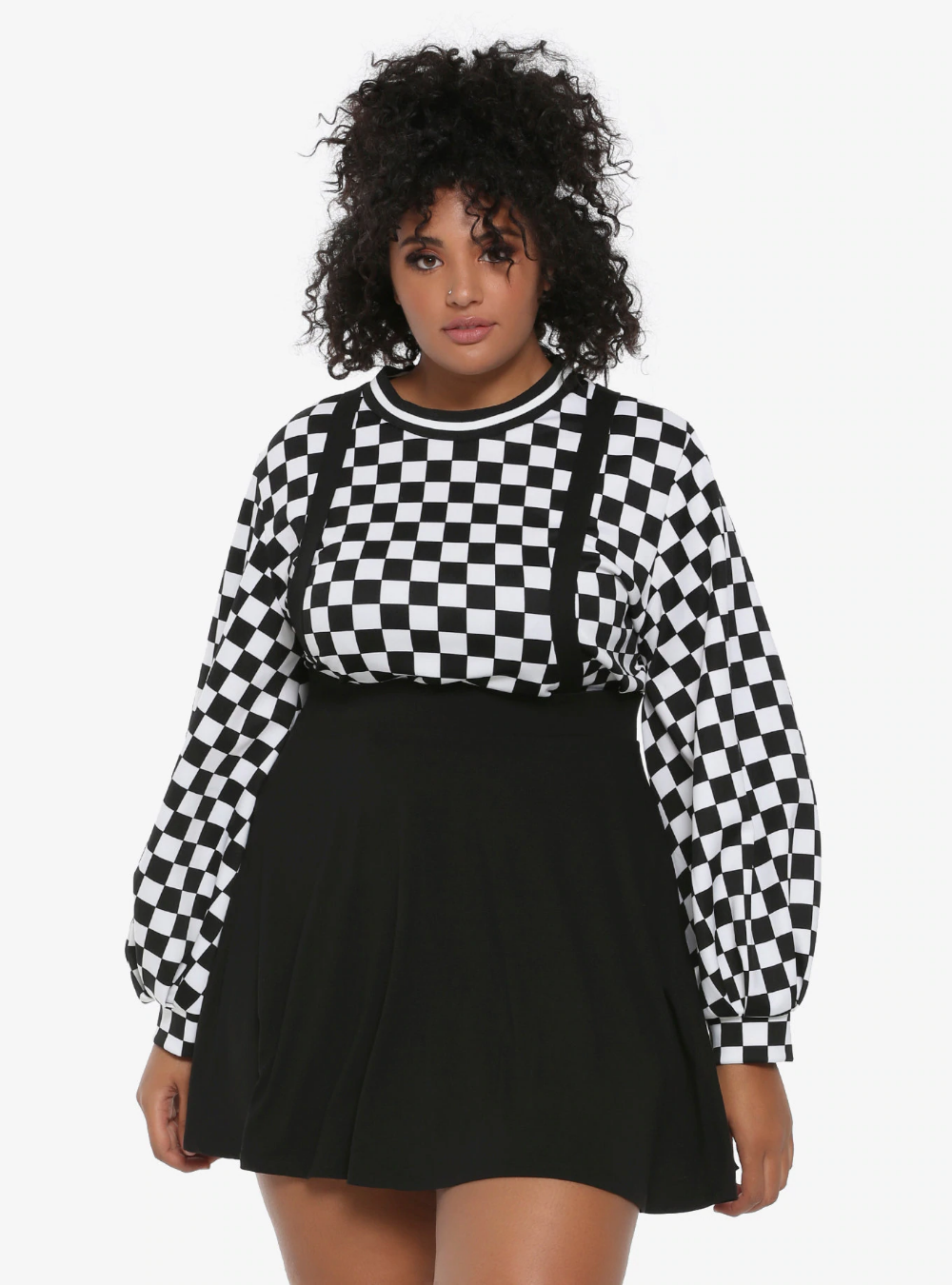 Black Suspender Circle Skirt Plus Size Suspenders Suspenders Suspenders Aesthetic In 2020 Black Circle Skirts Plus Size Outfits Plus Size Grunge