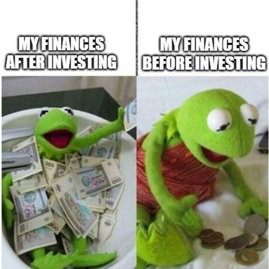 Why You Need To Start Investing In The Stock Market Asap In 2020 Birthday Meme Spongebob Birthday Funny