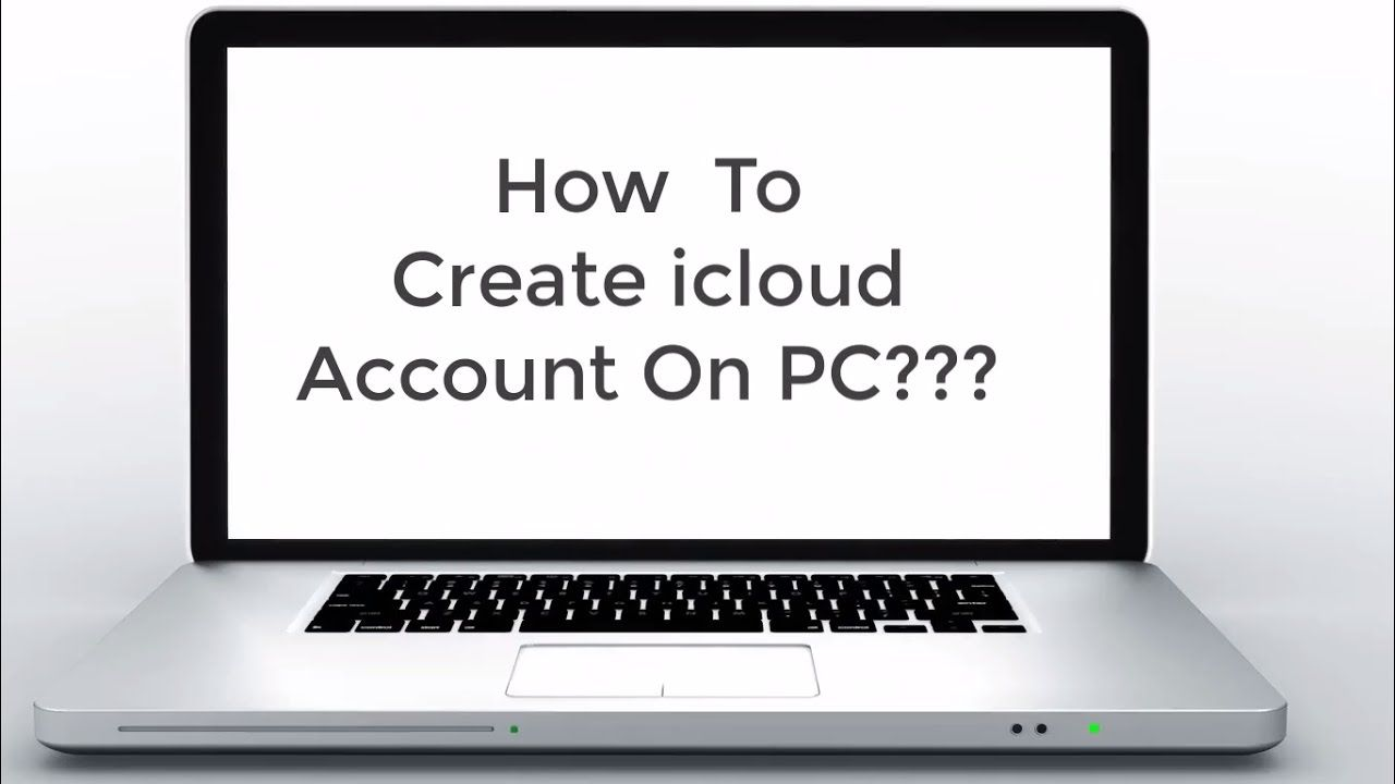 How To Create icloud Account On Your Computer 2017 Make